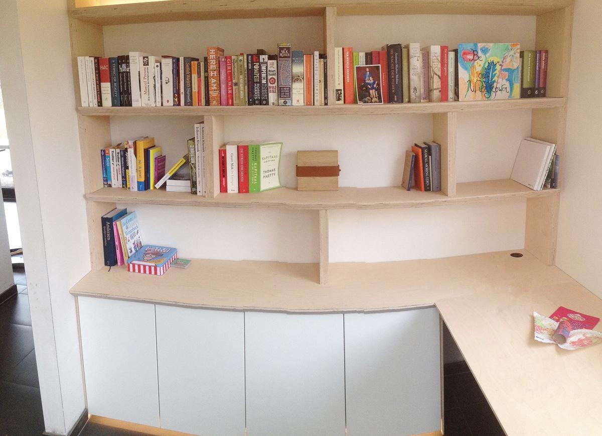 Br&L boekenkast berk