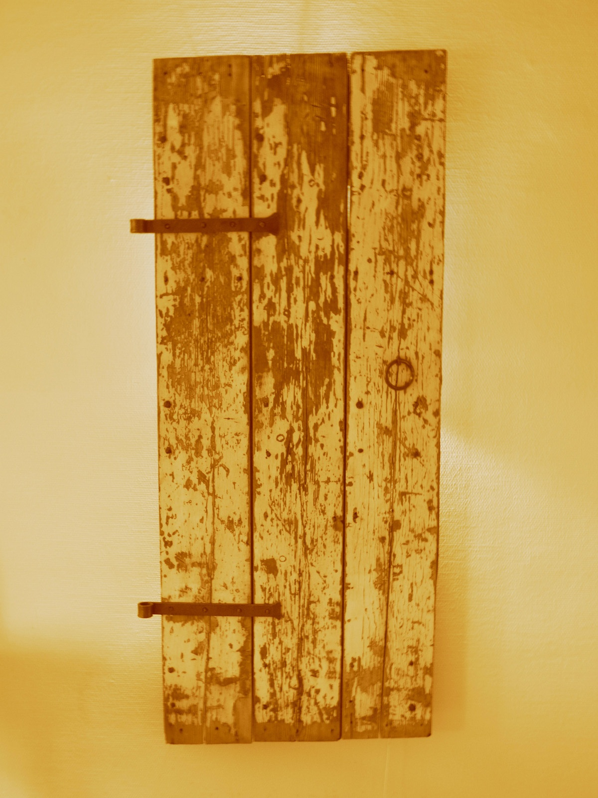 Door on wall